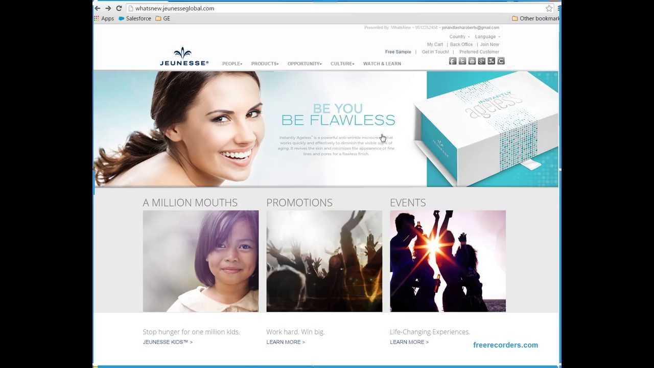 Request/Send Free Jeunesse Samples - How to - YouTube