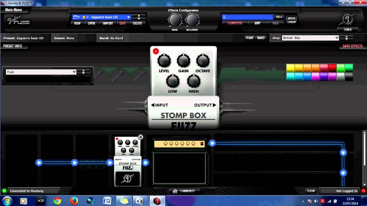 Images of Fender Fuse Software - #rock-cafe