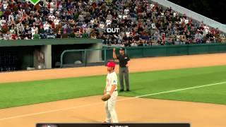 MLB 2k12 Gameplay#1