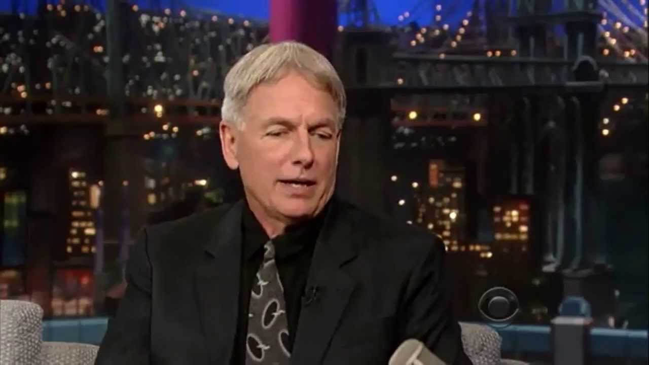 Mark Harmon 2013 Mark Harmon on Late Sh...