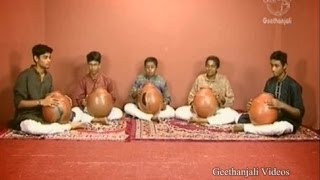 Ghatam - Concert Pattern - Indian Classical Music