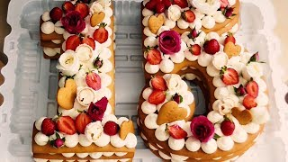 ТОРТ * МЕДОВАЯ ЦИФРА *!!! CAKE * HONEY FIGURE *!!!