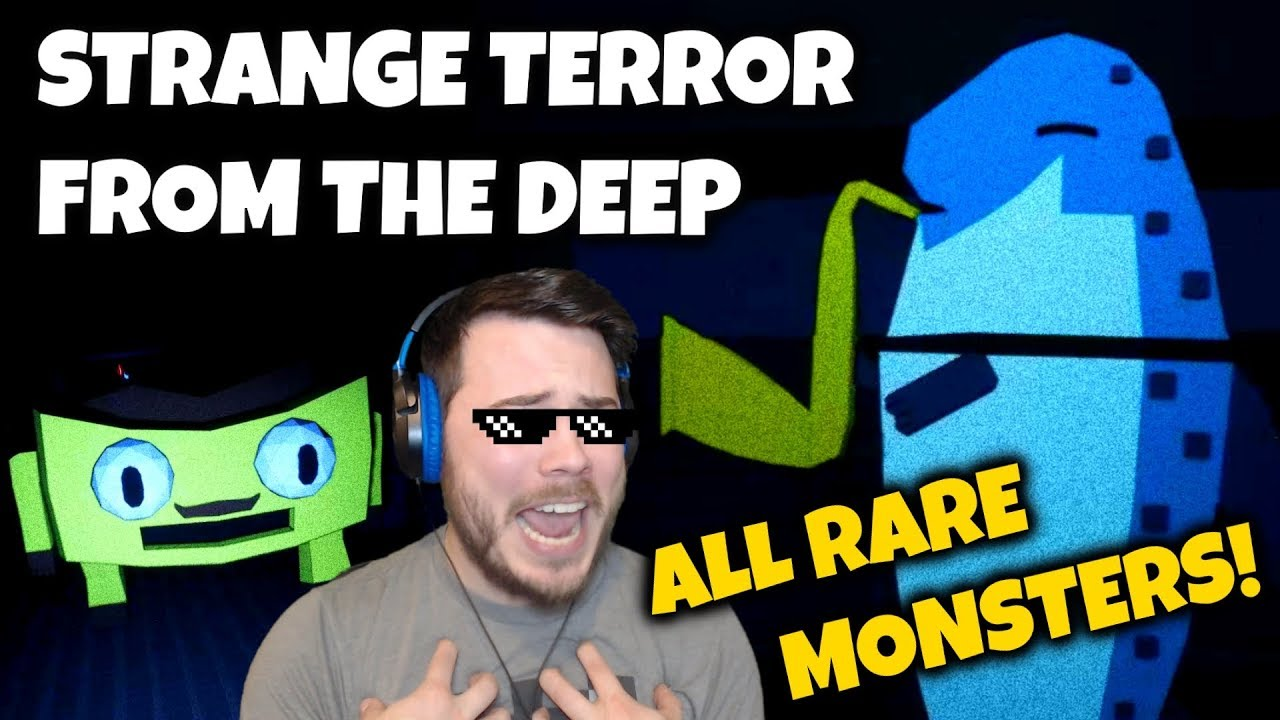 ALL RARE MONSTERS!! THE JAZZ SALMON?! | Strange Terror From The Deep  (Update)