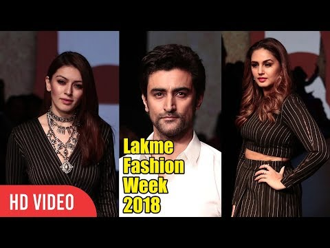 The Lakme Fashion Week 2018 |Hansika Motwani, Huma Qureshi, Kunal Kapoor