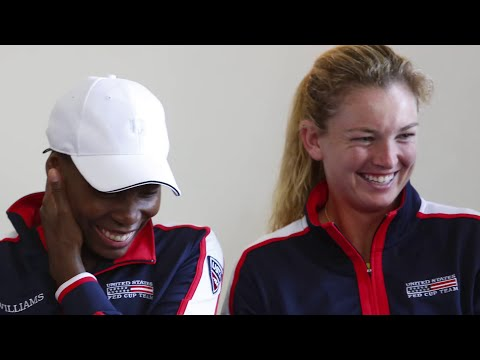2018 Fed Cup: Team USA Day 1 Recap