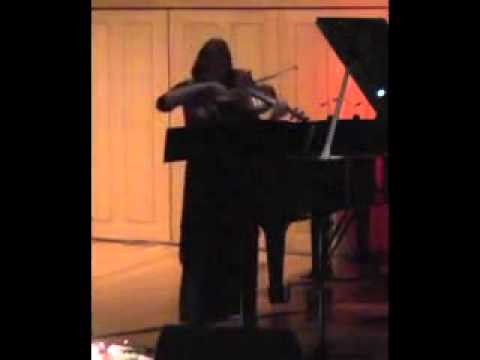 """""""Just Out of Reach"""" for solo viola and prepared audio by John Kaefer"""