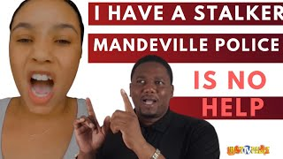 STALKED IN JAMAICA, POLICE DOES NOTHING TO HELP , MOM AND DAUGHTER  EXPOSE MANDEVILLE POLICE.