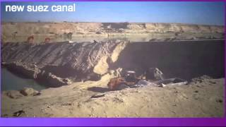 New Suez Canal archive drilling and dredging in the February 1, 2015