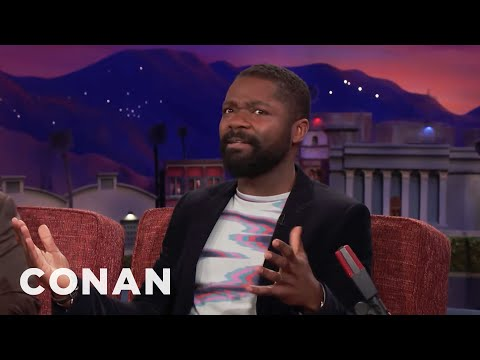 David Oyelowo's Kids Are Jealous Of His Instagram Numbers  - CONAN on TBS