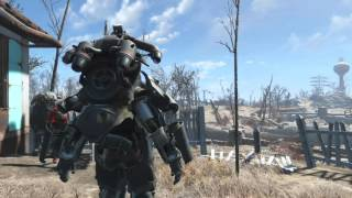 Fallout 4 - Duplicate power armor parts