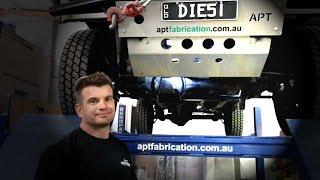 DIY Install Land Rover Defender APT Slider Diff Guard
