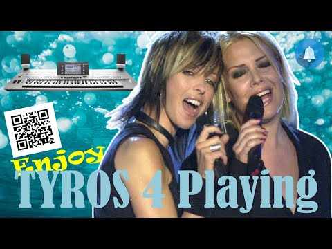Nena And Kim Wilde - Anyplace Anywhere Anytime / INSTR. COVER TYROS PSR GENOS by Wonfoli @ piano