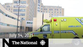 CBC News: The National   Health care strain, Vaccine passports, Ocean plastics