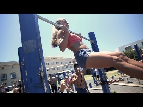 Fit For Less >> Fit Chicks of Bondi - Pull Up Comp @ Bondi Beach Bar Brutes - YouTube