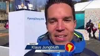 Ecuador desfiló por primera vez en la historia en unos Juegos Olímpicos de Invierno