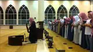 فجرية هادئه بكاء الشيخ ناصر القطامي بسورة الاعراف حزينة جدا 19-1-1433هـ