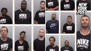 Sheriff accused of forcing arrestees to wear Nike shirts in their mugshots