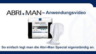 Produktvideo zu Abena Abri- Man Premium Einlage für Herren