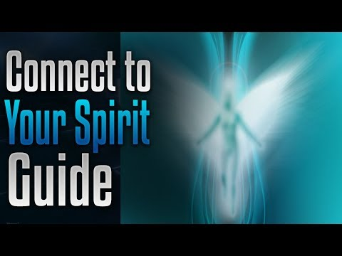 🎧 Connect to your spirit guide, Meet your spirit guide Meditation, Higher Self | spiritual | psychic