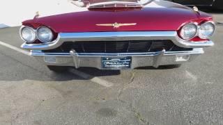 1965 Ford Thunderbird Convertible Walkaround / Top Operation