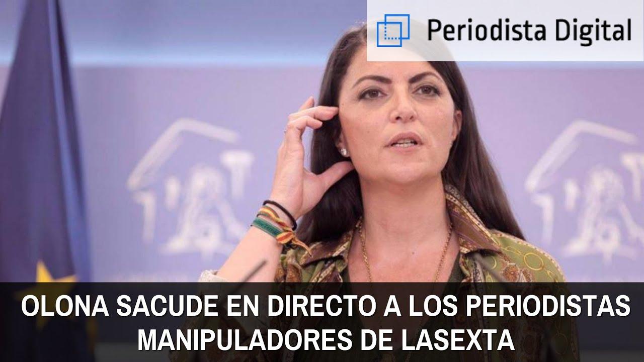 Macarena Olona sacude en vivo y en directo a los periodistas manipuladores de LaSexta - YouTube