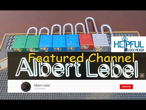 [140] Featured Channel Of The Week: Albert Lebel