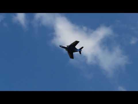 turbine F9F PANTHER SWANSEA AIRPORT
