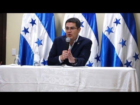 Hernández se dice dispuesto a hablar con la oposición hondureña