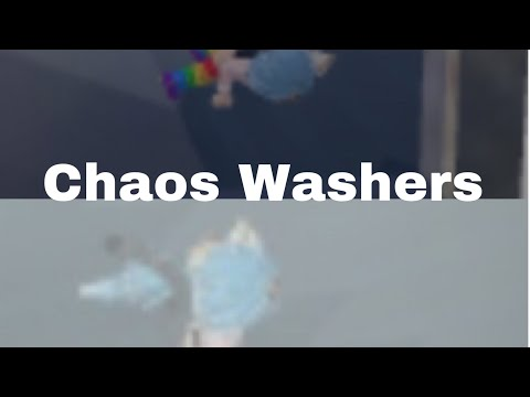 Will We Survive These CrAzY Washers?!? | Chaos Washers | KG