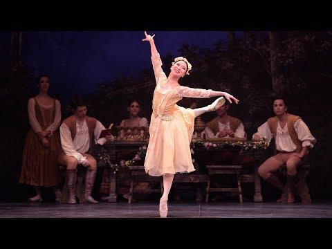 Swan Lake: Rina Kanehara, Peasant pas de trois (extract) | English National Ballet