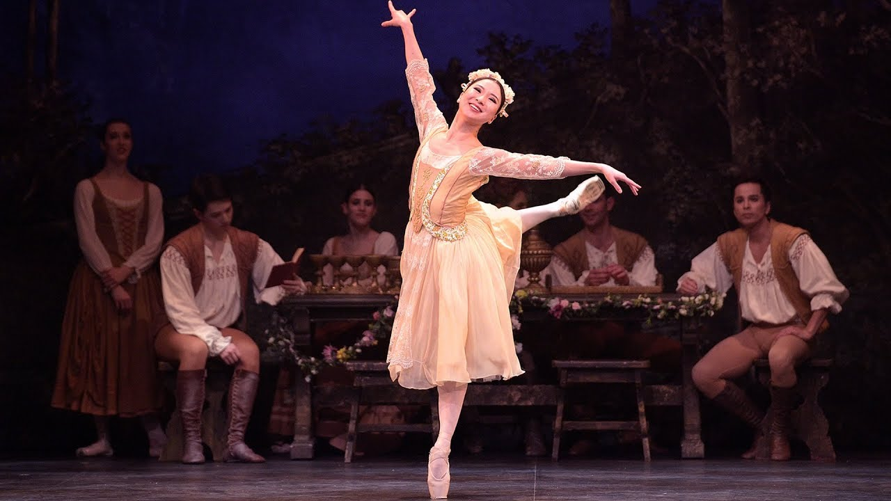 Swan Lake: Rina Kanehara, Peasant pas de trois (extract) | English National Ballet