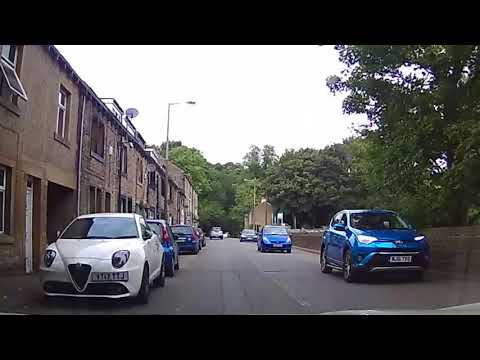 Dash Cam - Driving - North West England 27/08/2017