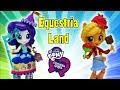 Rollercoaster of Friendship Rarity Applejack Equestria Land Park - Costume and Snack Creation