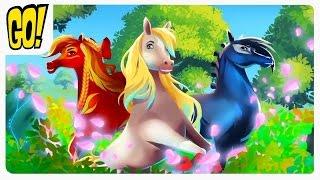 EverRun Лошадки хранители Вечноцветущего леса Волшебное приключение Игра для Детей