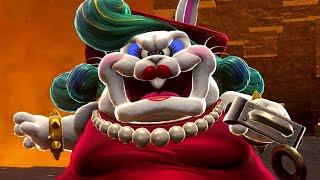Super Mario Odyssey Walkthrough Part 12 - Bowser's Moon Wedding (Moon Kingdom)