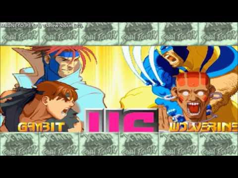 [HD] - Fightcade - Xmen Vs Street Fighter - MAGNETO-PE(BRA) Vs New-Storm(BRA) - Part 2
