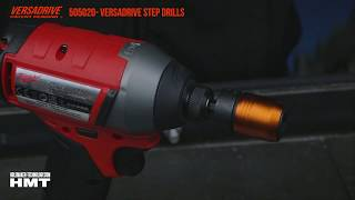 Step Drill & Impact Wrench vs structural steel