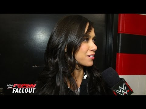 WWE Divas react to Alundra Blayze's Hall of Fame announcement: Raw Fallout, March 2, 2015