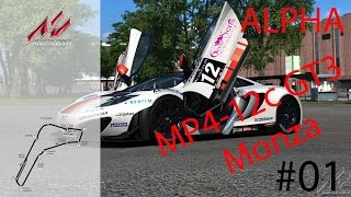 Assetto Corsa [PC] #01 - McLaren MP4-12c GT3 in Monza [German][HD] | Let