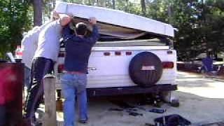 Fixing a Pop Up Camper that won't fold down
