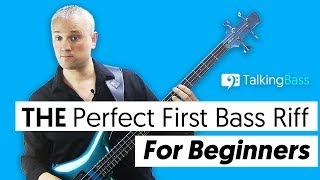 THE Perfect First Bass Riff For Beginners