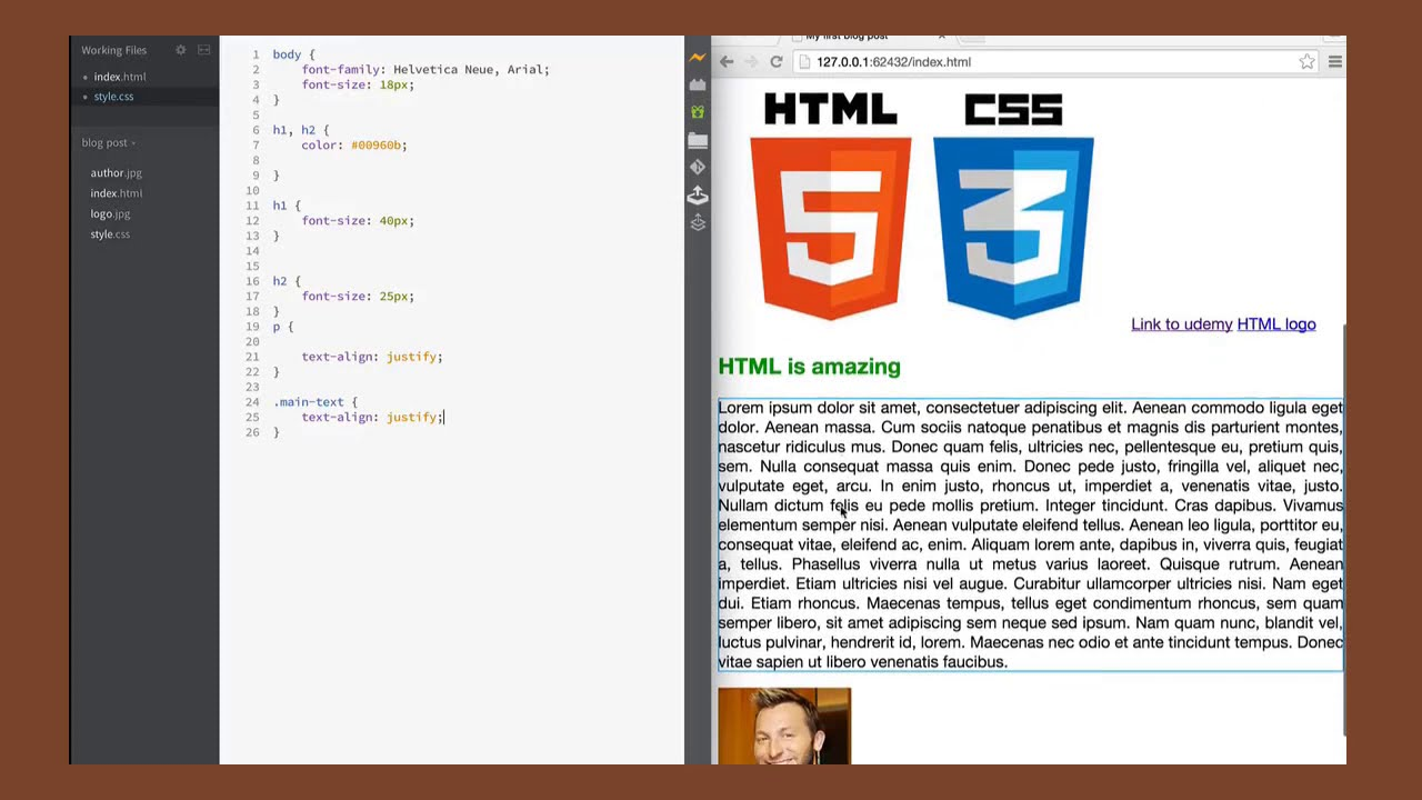 Classes and IDs in HTML