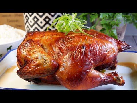 just-marinate-&-roast!-asian-style-roast-chicken-亚洲烤鸡-super-easy-oven-(air-fryer)-chicken-recipe