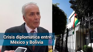 Embajada de Bolivia en México, semivacía
