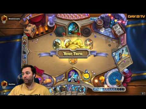 Day[9] HearthStone Decktacular #275 - Road to Legend Freeze Mage P1