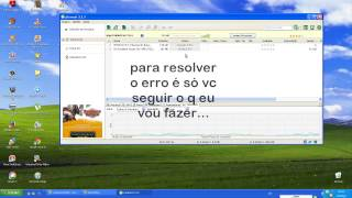 como resolver o erro do utorrent