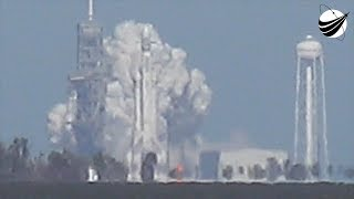 vermillionvocalists.com - SpaceX - Falcon Heavy - First Ever Static Fire  01-24-2018