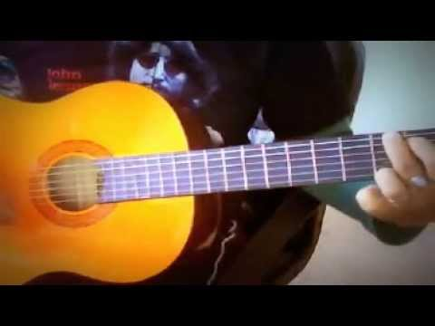 ♪♫ Because - Julian Lennon - Acoustic Guitar Easy Chords ...