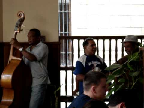 Cuban band in Havana play Chan Chan