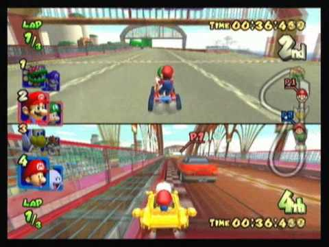 Mario Kart Double Dash 2 Player All Cup Tour 2 2 Youtube